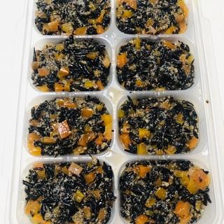 【離乳食 後期】ひじき人参 高野豆腐煮