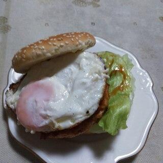 照り焼きバーガー