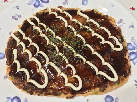 大和芋のグルテンフリーお好み焼き