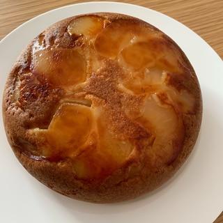 *りんごと紅茶の炊飯器ケーキ*
