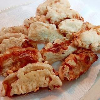 餃子の天ぷら