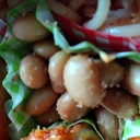 お弁当にも♪レンジで簡単蒸し大豆のきんぴら風♡