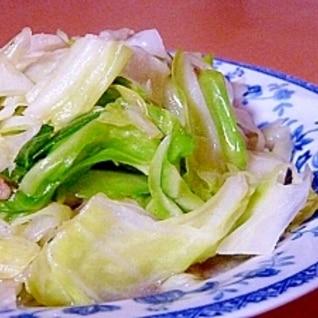 屋台直伝-簡単シャキシャキ☆台湾流キャベツ炒め