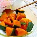 レンチンかぼちゃ煮