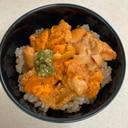 礼文島産のウニ丼を2種類の味で楽しむ!
