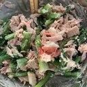 小松菜とツナの味噌マヨ和え