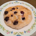 ブルーベリー入り♪米粉のパンケーキ