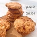 【簡単】グラノーラドロップクッキー
