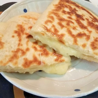 簡単☆チーズナン