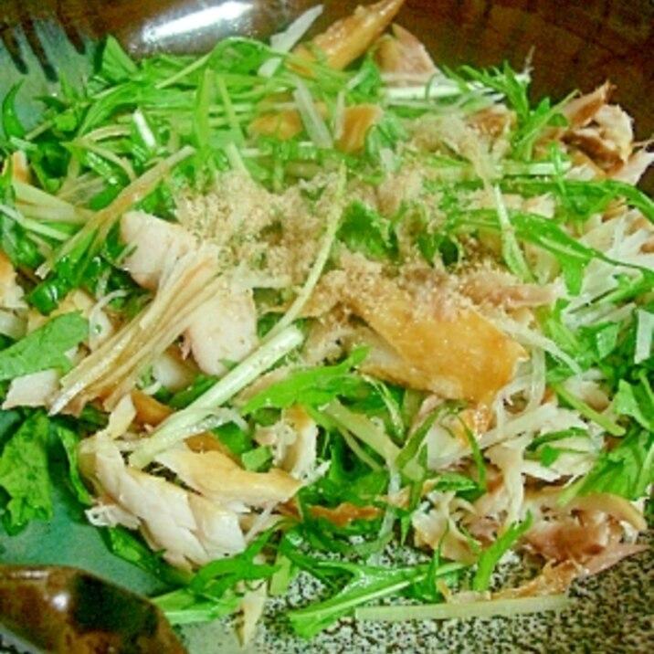 旬のサバが美味★サバ・サラダ