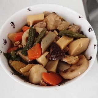 簡単!時短!冷凍和風野菜ミックスで美味しい筑前煮