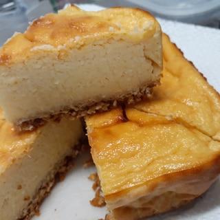 生おからとヨーグルトで!おからのチーズケーキ風!