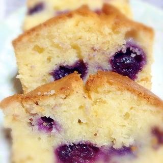 ヨーグルト&ブルーベリーのパウンドケーキ
