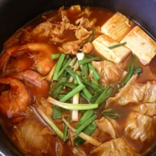 餃子チゲ鍋