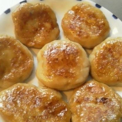 里芋を変わった食べ方で…と、こちらのレシピで頂きました。もちもちでとっても美味しかったです!里芋と分からないくらいでした、また作ります(``*)