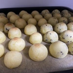 マッシュポテトリメイク☆簡単もちもちポンデケージョ