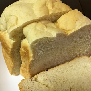 オートミール入り ホームベーカリーでミルク食パン