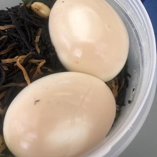 めんつゆで簡単 味卵