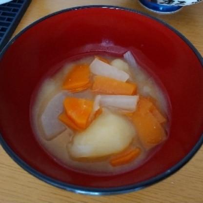 とても美味しくできました! いつものみそ汁よりよかったです!