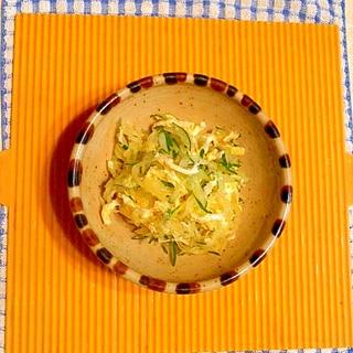 素麺瓜の酢の物♪