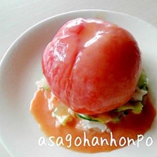 まるごと!トマトサラダ♪