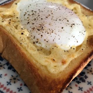 プルン♡とろーり♡簡単温玉トースト