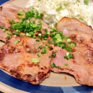 豚肉のもろみ焼き