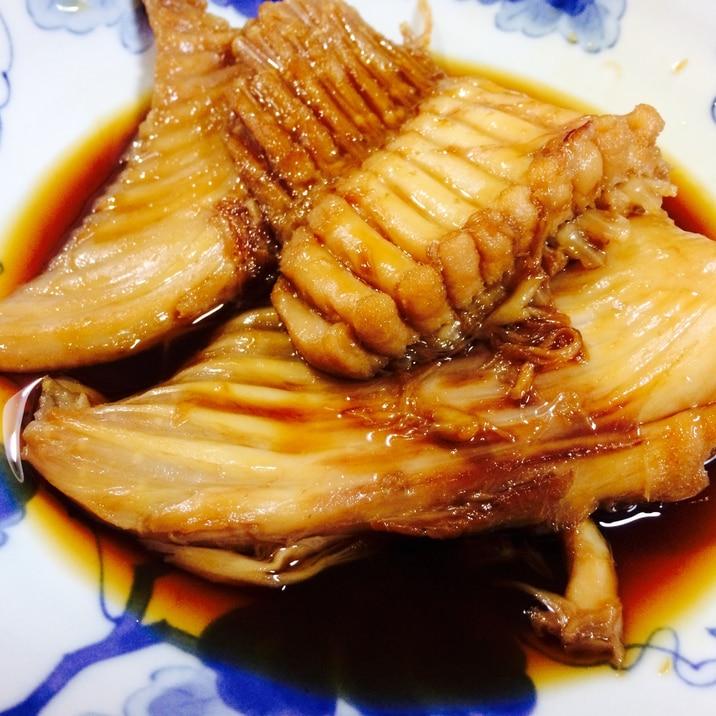 【ガサツ料理】下処理不要!かすべ(エイヒレ)の煮付