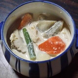 カルシウム補給に!簡単お手軽♬和風ミルクスープ