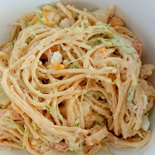 作り置き・スパゲッティサラダ