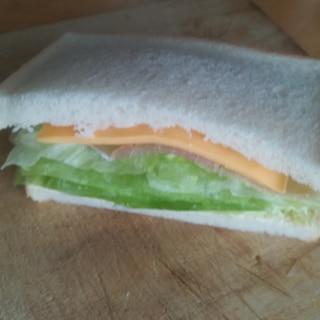 コンビニ再現☆シャキシャキレタスのサンドイッチ