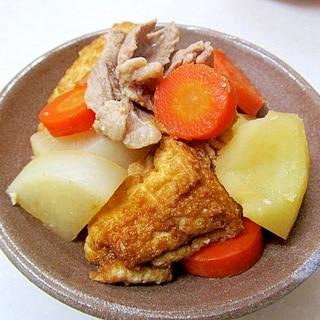 *野菜と厚揚げの煮物*