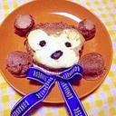 ダッフィーのパンケーキ