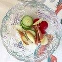 胡瓜、ラディッシュ、セロリ、茗荷の和え物