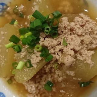 麺つゆだけ!冬瓜の煮物