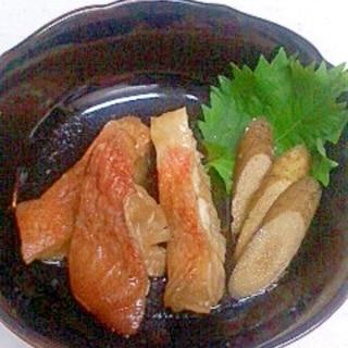 冷凍赤魚の煮付け