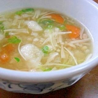 長芋の和風スープ