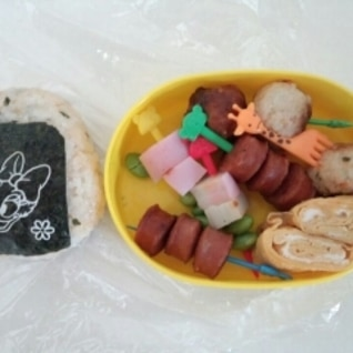 二歳のお弁当