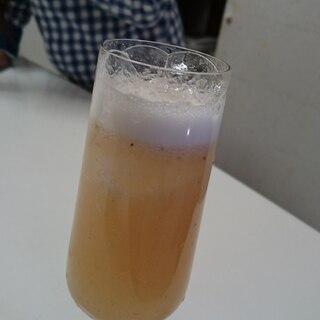 いちごとお酢の健康ドリンク