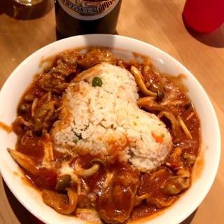 愛情たっぷり☆トマト缶で簡単ビーフストロガノフ