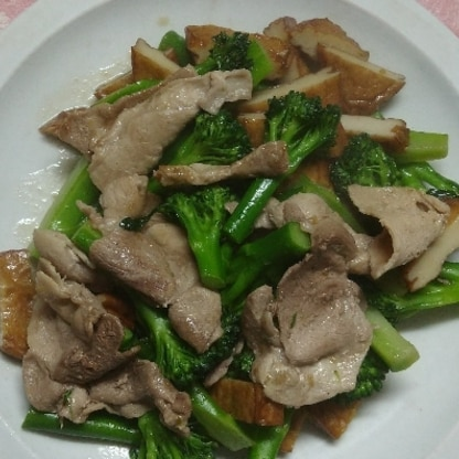 お肉が足りなかったので、さつま揚げを入れてみました(*^^*)レシピありがとうございます。