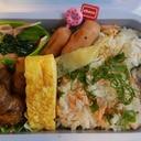 ヘルシオウォーターオーブンで鮭ごはんお弁当 4/9