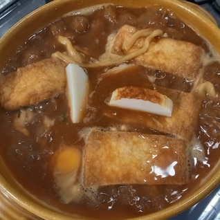 名古屋の味☆味噌煮込みうどん