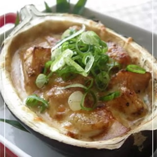 米茄子丸ごと味噌焼き