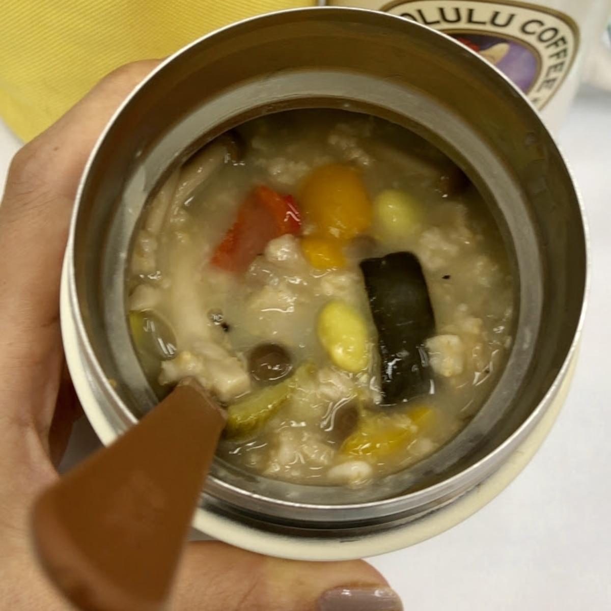 ジャー オートミール スープ