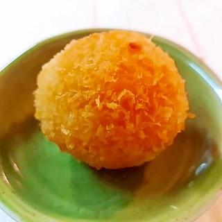 お弁当に☆薩摩芋パスタコロッケ