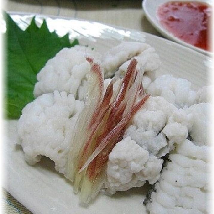 ハモ の 湯引き 本場京都の鱧の落とし(鱧の湯引き)通販【京都の魚屋