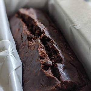 Vegan ★米粉バナナココアケーキ