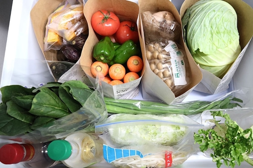 冷蔵庫の整理整頓術(2)野菜室編