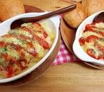 *定番のストック野菜でチーズ焼き*